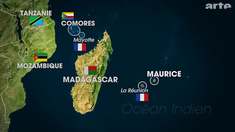 Next stop: the Indian Ocean   Mauritius and Madagascar   January