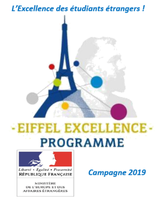 Recipients of the Eiffel excellence scholarship program for