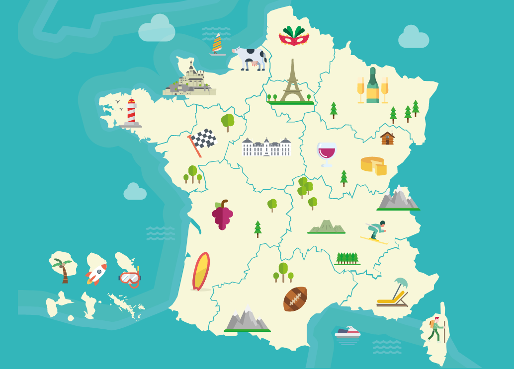 Visit the regions of France | Campus France