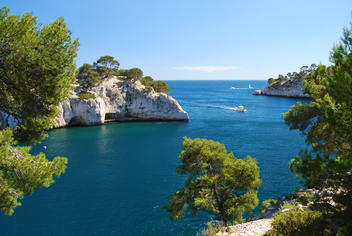 calanques marseille paysage