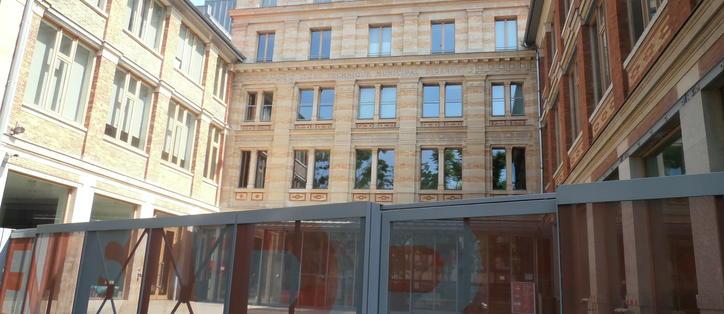 école architecture Paris Belleville façade