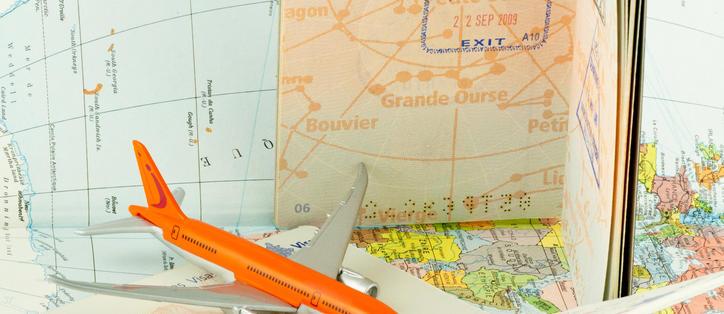 visa circulation avion
