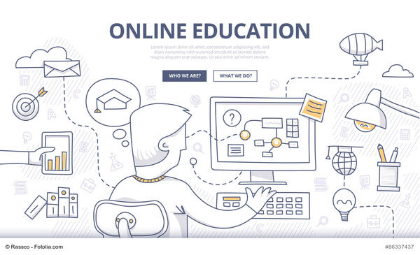 online education schéma
