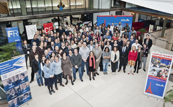 photo groupe campus france