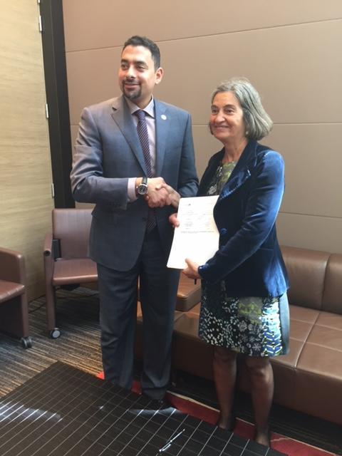 signature accord Campus France et Royal Commission Al-Ula