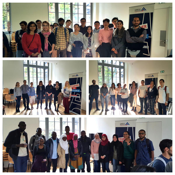Campus France Toulouse Welcomes Scholarship Recipients And International Students Campus France