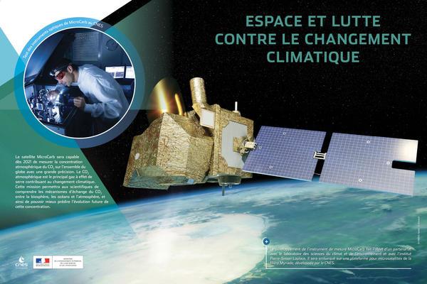 espace et lutte contre le changement climatique