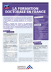 Le niveau D - La formation doctorale en France