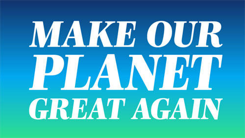 make our planet great again campus france