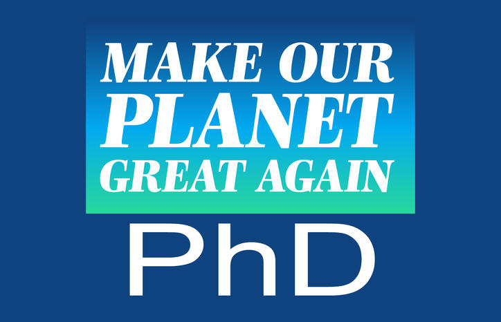 make our planet great again co financing of 3 year doctoral