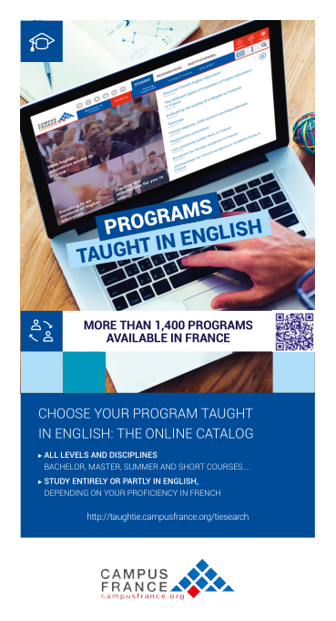 Programs Taught In English Campus France