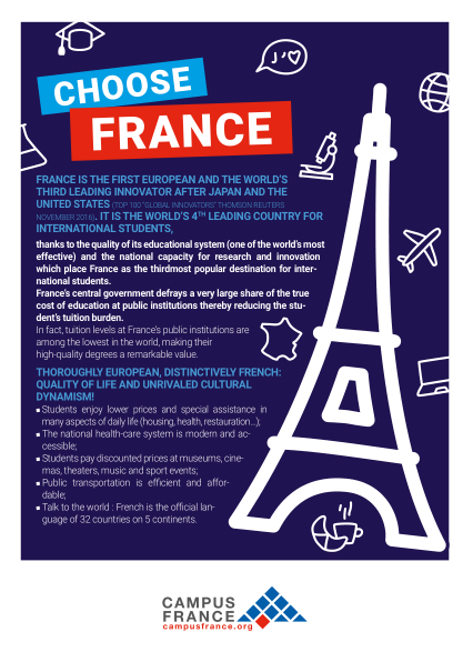 choose france flyer 2018