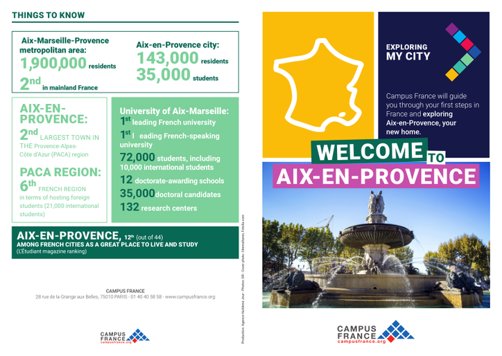 Aix-en-Provence   Campus France