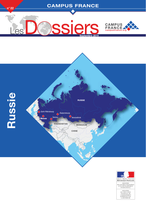 les dossiers pays campus france   russie