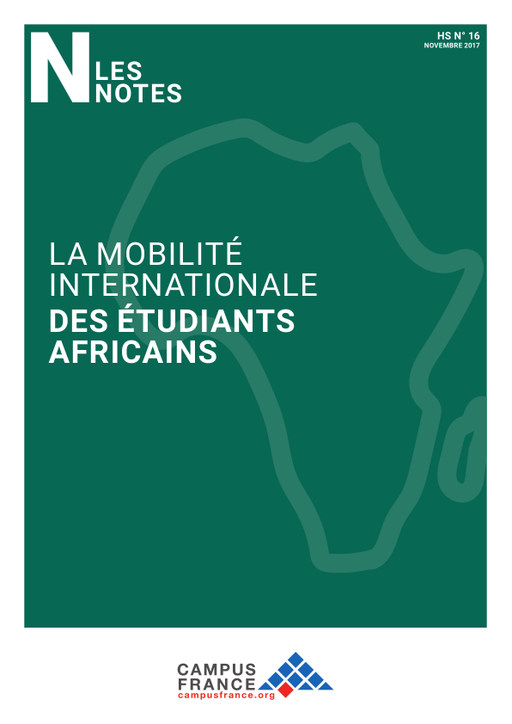 la mobilit u00e9 internationale des  u00e9tudiants africains