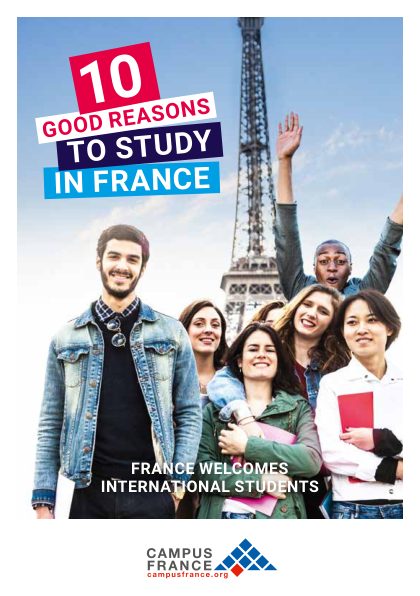 10 good reasons to study in France