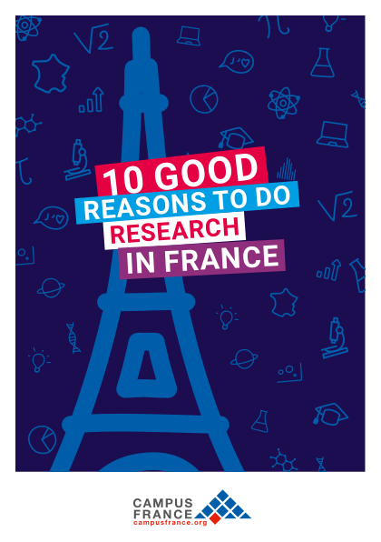 10 good reasons to do research in France